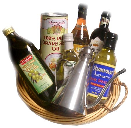 Oil and Vinegar Gift Basket 7pc