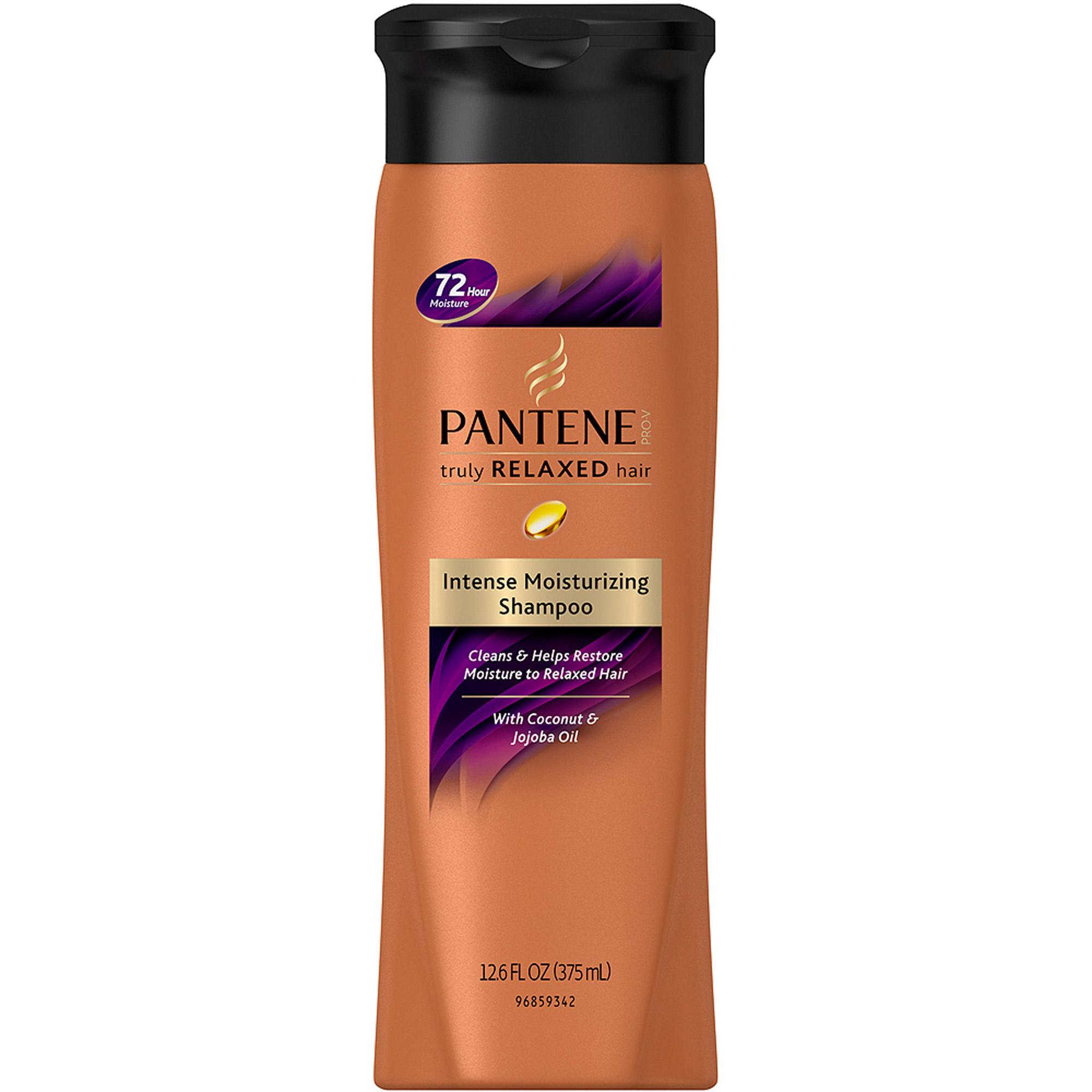 Pantene Pro-V Truly Relaxed Hair Intense Moisturizing Shampoo, 12.6 fl oz