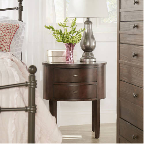 Chelsea Lane Oval Side Table, Multiple Colors