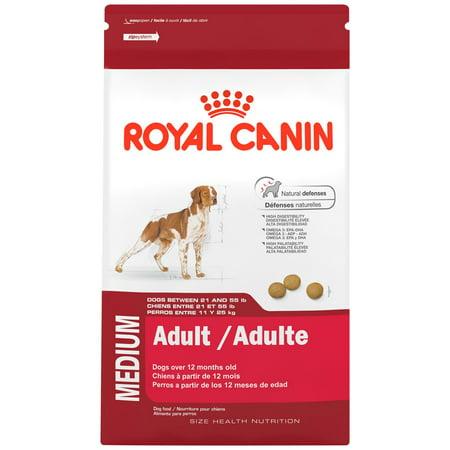 Royal Canin Medium Breed Adult Dry Dog Food, 30 lb