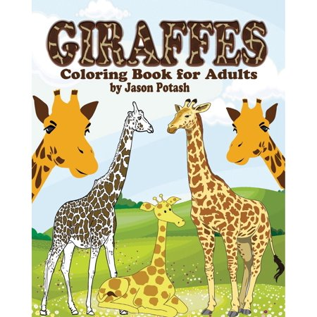 Giraffes Coloring Book for Adults (Paperback)
