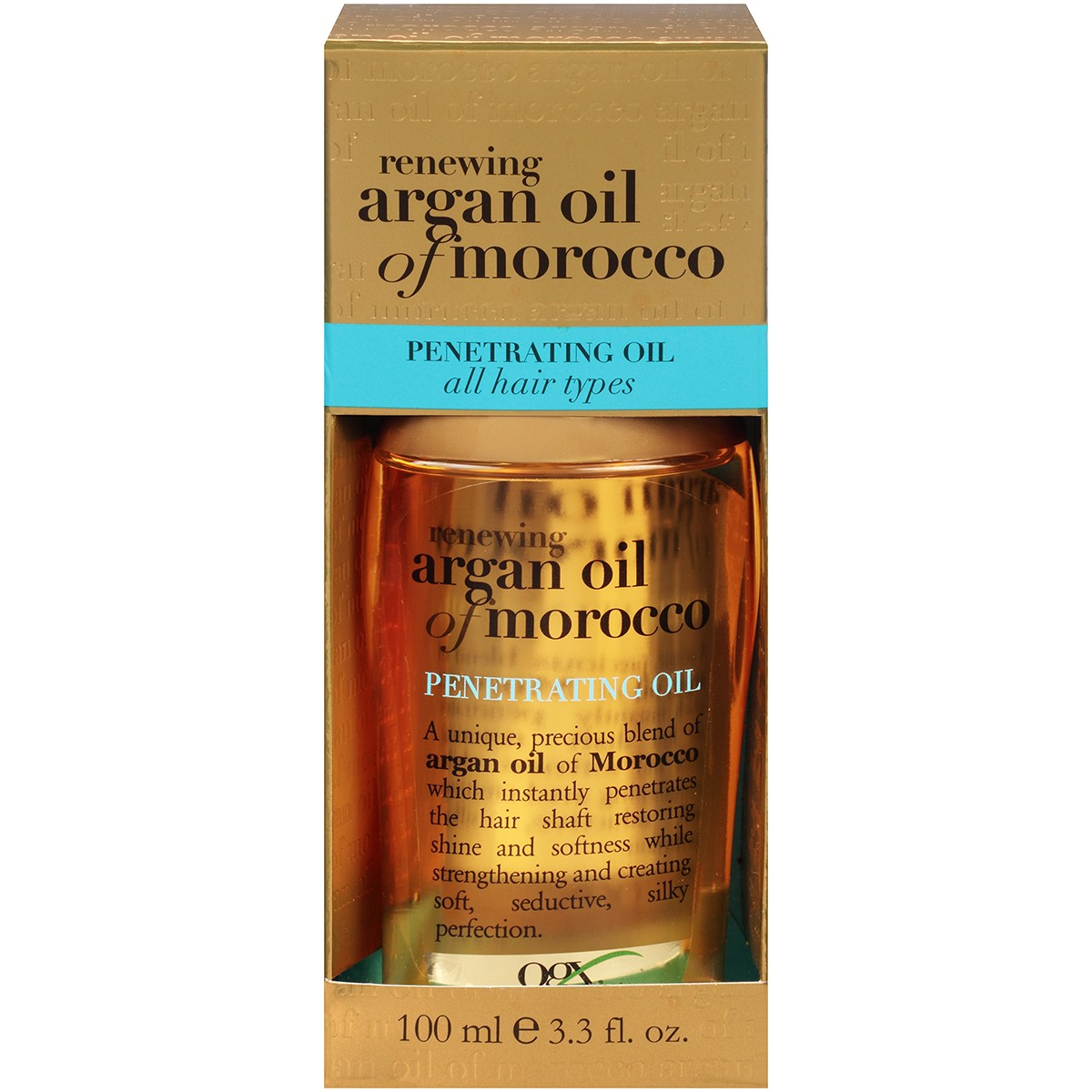 Organix Renewing Moroccan Argan Penetrating Oil, 3.3 oz