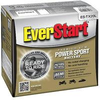 EverStart Premium AGM Power Sport Battery, Group Size ES-TX20L