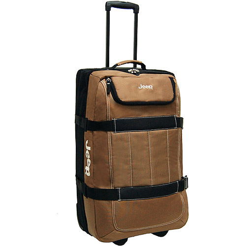"Jeep 26"" Upright Duffel Tan"