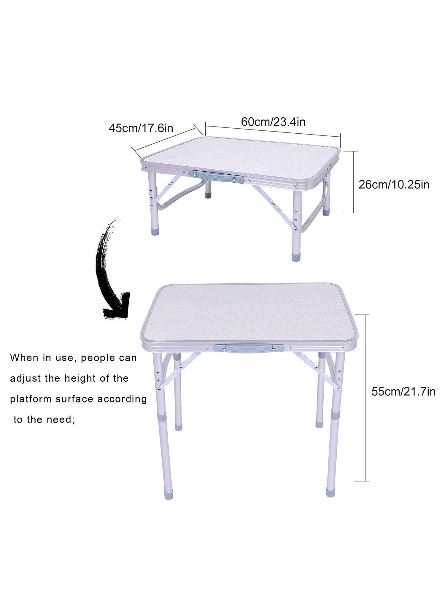 Ultralight Aluminum Portable Folding Camping Table by Generic