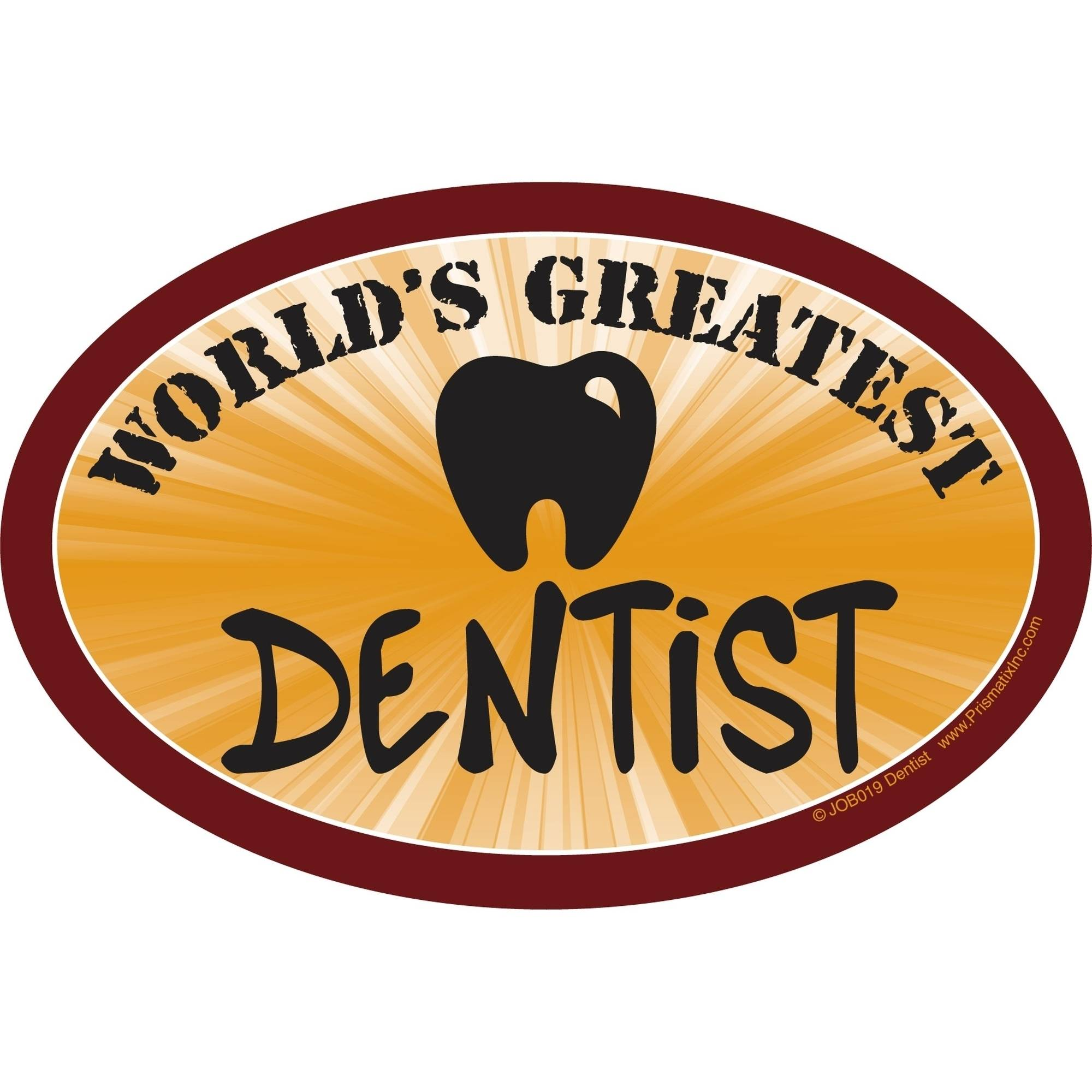 Prismatix World's Greatest Dentist Magnet
