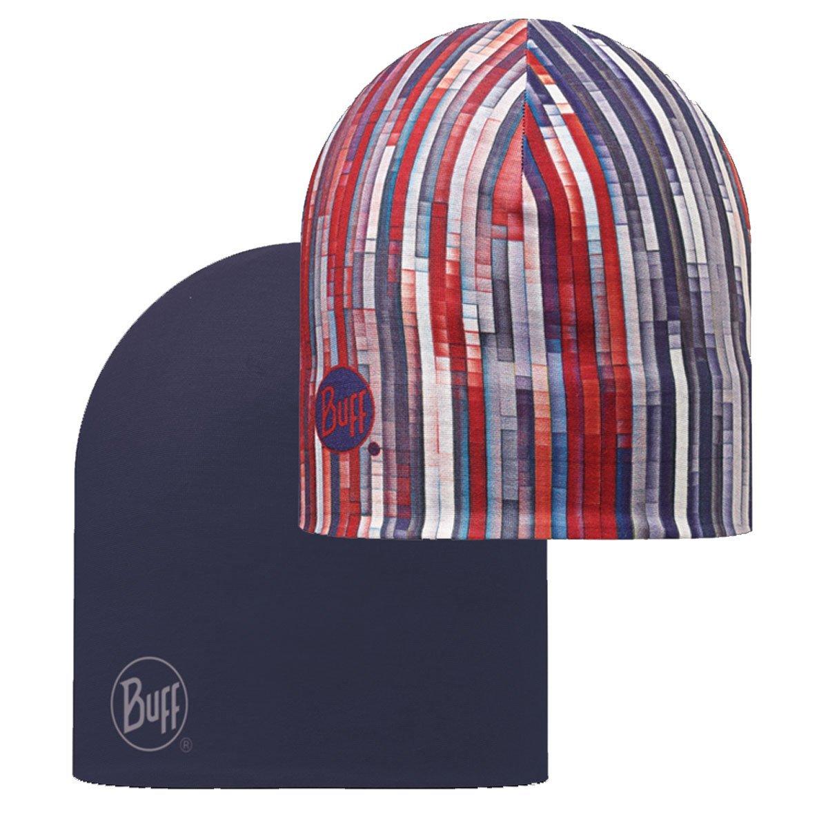 Blue//Grey Buff Hat One Size