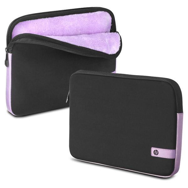 HP Faux Fur Interior Mini Laptop, Tablet or Netbook Sleeve - WZ341AA#ABA