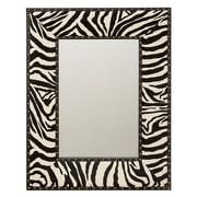 Aspire Home Accents Zebra Wall Mirror - 24W x 31H in.