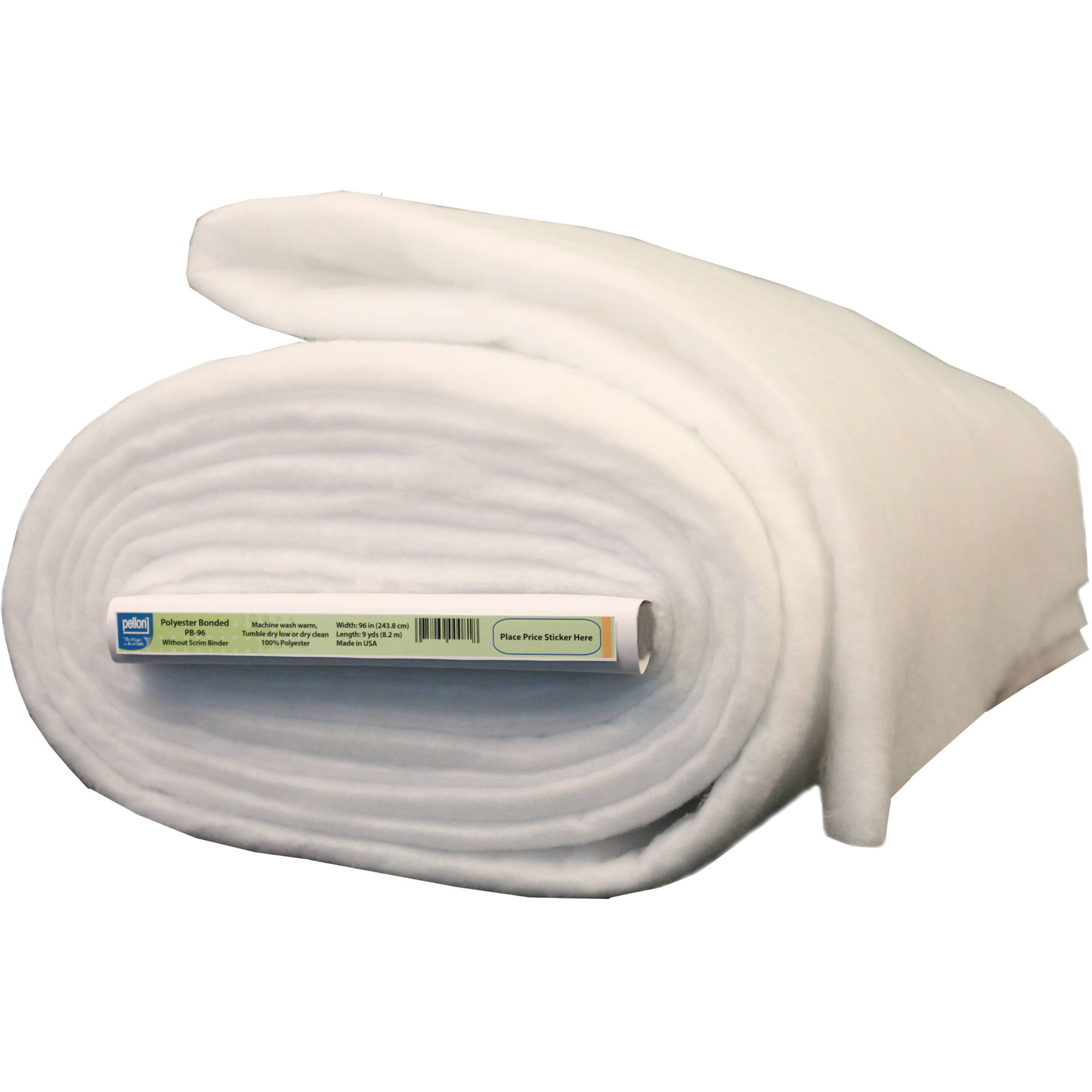 "Pellon polyester Bonded Batting, 96"" Wide, 9 Yard Bolt"