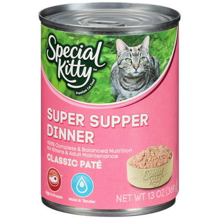 special kitty classic pate super supper dinner wet cat food 13 oz. Black Bedroom Furniture Sets. Home Design Ideas