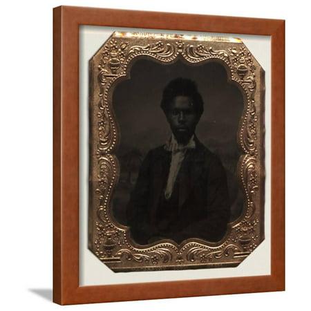 Robert Smalls, Pilot of the Planter, 1862-65 Framed Print Wall Art