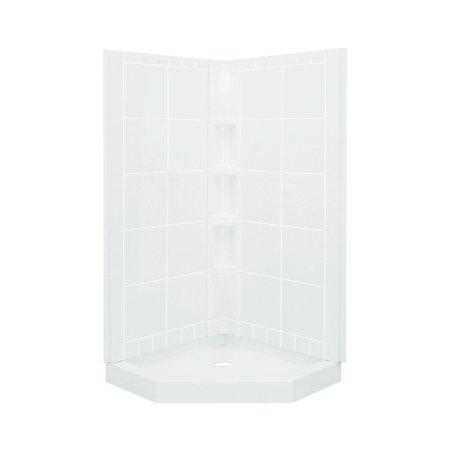 Sterling by Kohler Intrigue Neo-Angle Shower Kit - Walmart.com