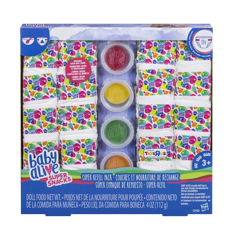 Baby Alive Super Snacks Super Refill Pack Walmart Com Walmart Com