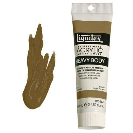 Liquitex Professional Heavy Body Acrylic Color, 2 oz. Tube, Green Gold Acrylic Colors 2 Oz Tube
