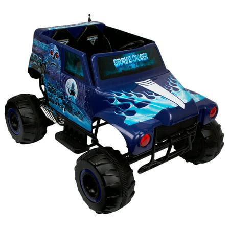Monster Jam Grave Digger 24-Volt Battery Powered Ride-On ...