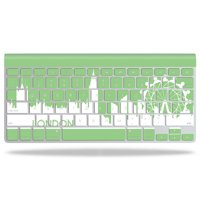 Skin Decal Wrap for Apple Wireless Keyboard Action Fish Puzzle