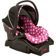 Disney Baby Light 'N Comfy Luxe Infant Car Seat, Minnie Dot