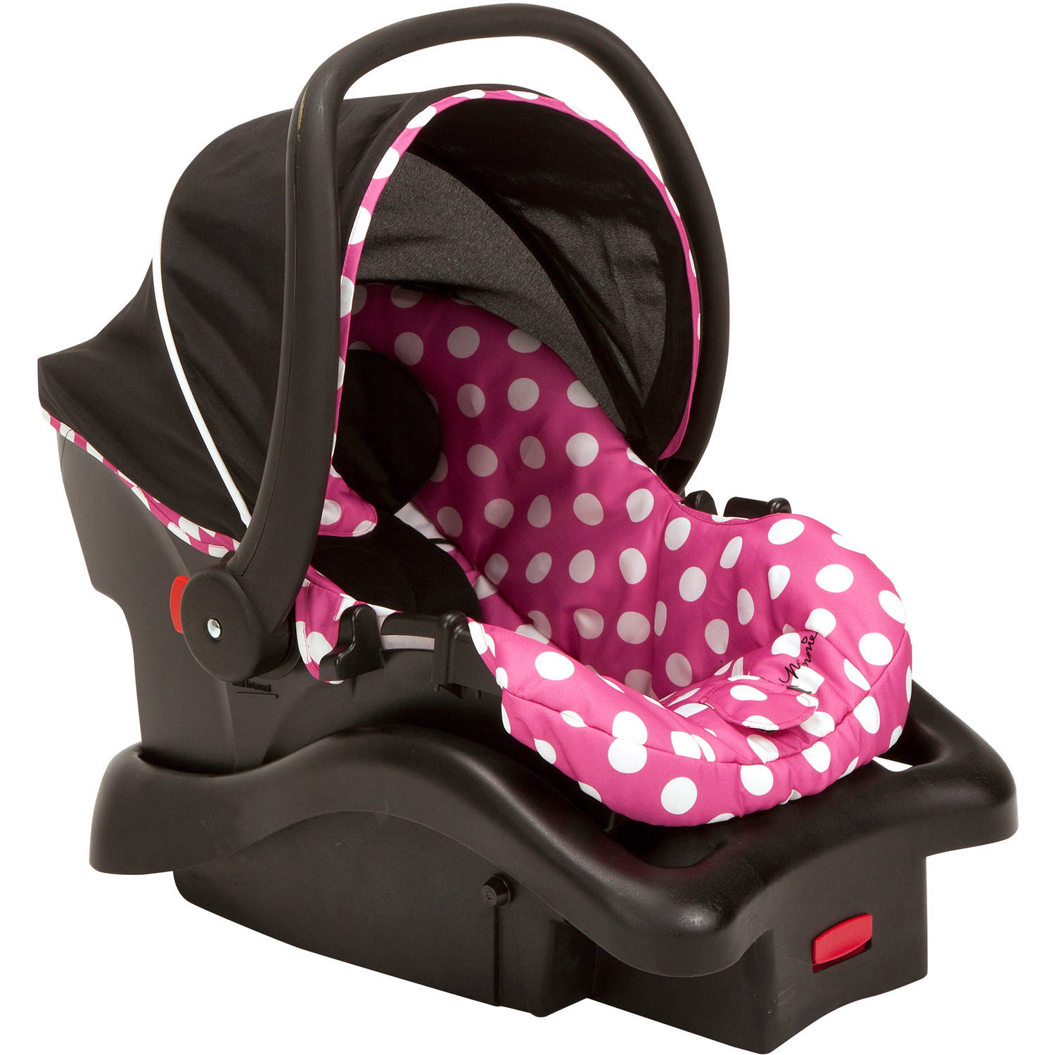 Disney Baby Light N Comfy Luxe Infant Car Seat Minnie