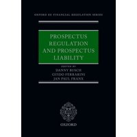 Prospectus Regulation and Prospectus Liability (Hardcover)