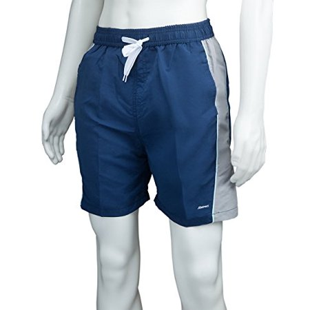 Athletic Shorts Polyester Swim Trunks for Men / Boys by Abstract (14/16, Navy /