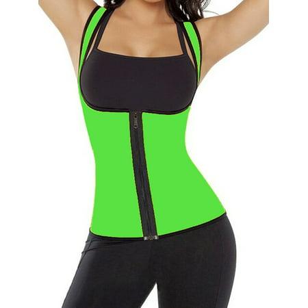5f882a0ca9 SAYFUT Women Ultra Firm Control Shapewear Weight Loss Body Shaper Neoprene  Hot Sweat Sauna Tank Top Corset Vest