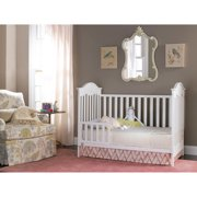 Fisher Price Charlotte 3 In 1 Convertible Crib Snow White Walmart Com