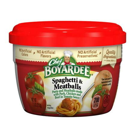 (Price/Case)Chef Boyardee 6414404717 Chef Boyardee Microwaveable Spaghetti And Meatballs 7.5 oz