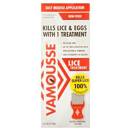 vamousse lice treatment, 6 fl oz - walmart, Skeleton