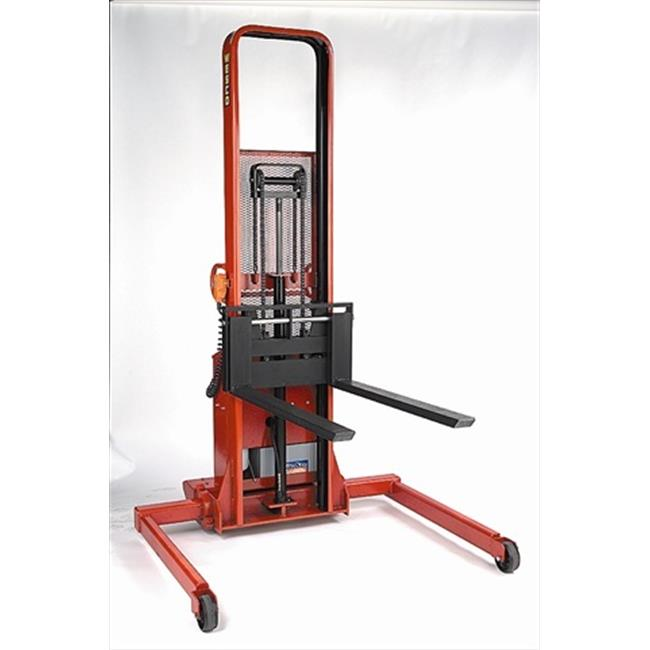 Wesco 261047 Powered Fork Stacker 138.33 Cubic Ft by Wesco