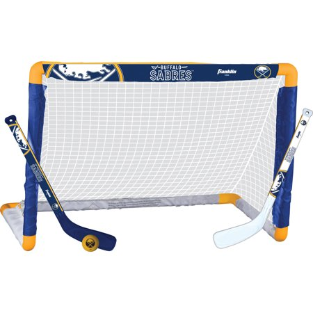 Franklin Sports NHL Buffalo Sabres Mini Hockey Set ()