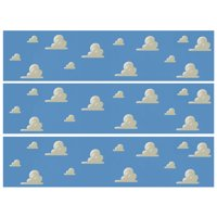 Toy Story Cloud Border Strips Edible Icing Image (1/4 Sheet)