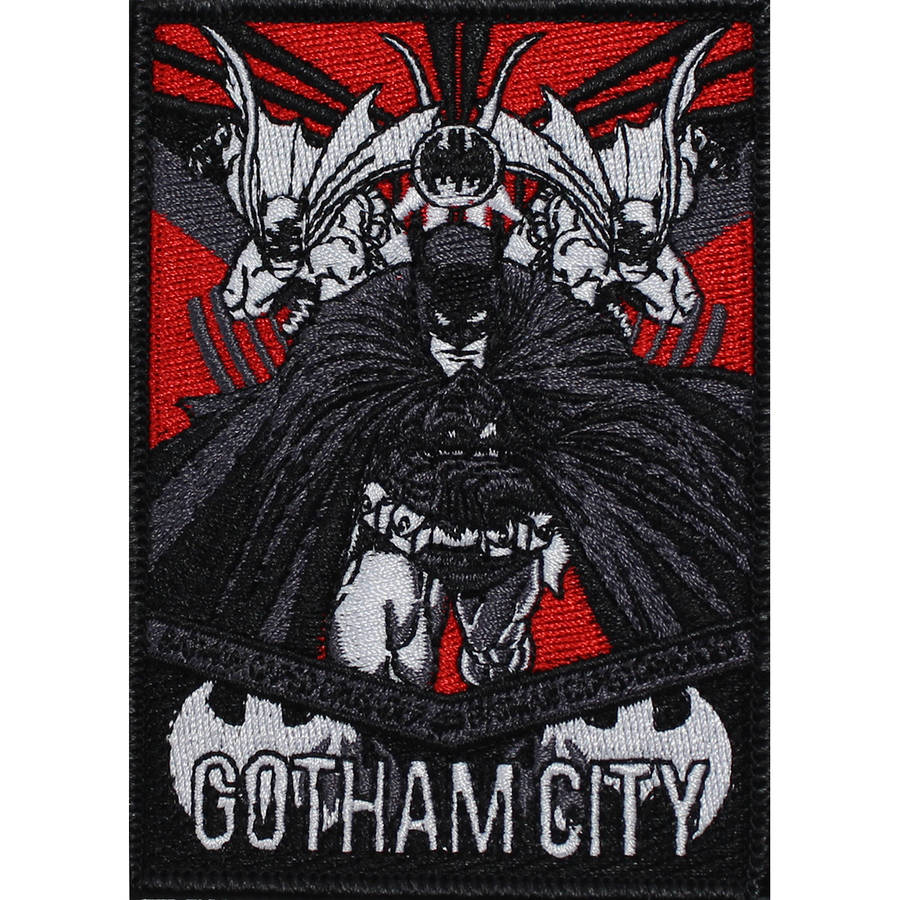 "Batman Gotham City 4""X3"" - DC Comics Patch"