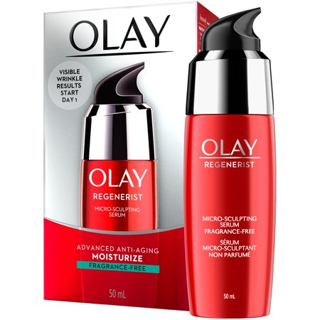 Olay Regenerist Advanced Anti-Aging Fragrance-Free Micro-Sculpting Serum, 1.7 fl oz