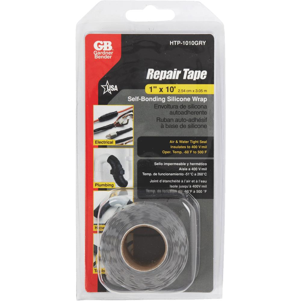 GB Electrical Gry Silicone Repair Tape HTP-1010GRY