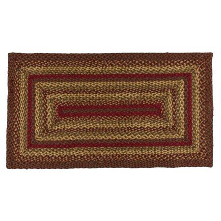 Cinnamon Jute Braided Rugs by IHF Rugs