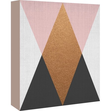 premium selection 008b0 de2c9 Americanflat Geometric by LILA + LOLA Graphic Art on Wrapped ...