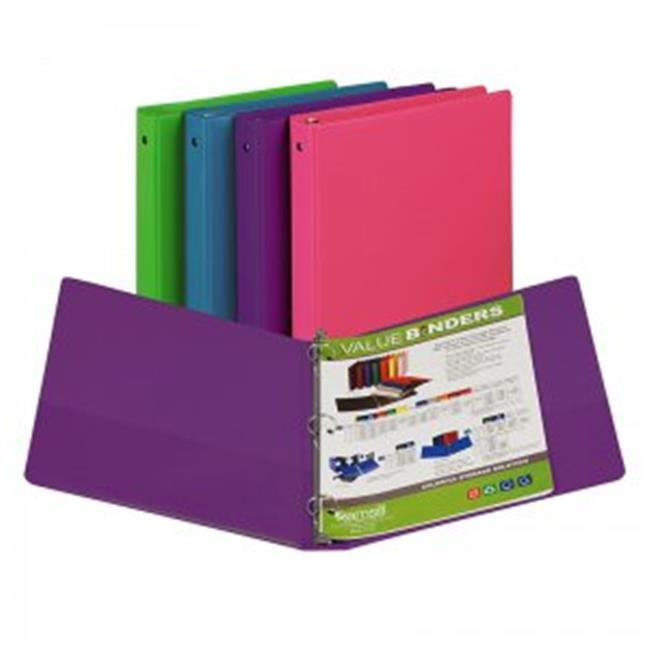 Samsill SAM11399BN 1 in. Fashion Color Binder - 12 Each