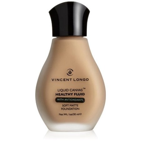 Vincent Longo Liquid Canvas Healthy Fluid Soft Matte Foundation, #5 Medium Beige
