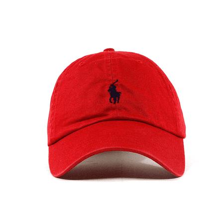 2fe5d21f6bb84 Polo Ralph Lauren - Polo Ralph Lauren Dad Hat OSFA RED - Walmart.com
