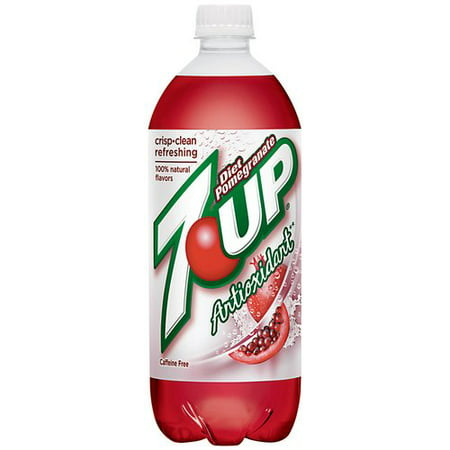 Diet 7 Up Pomegranate Antioxidant Soda, 2 l - Walmart.com