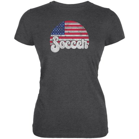 World Cup United States Football Soccer Juniors Soft T Shirt