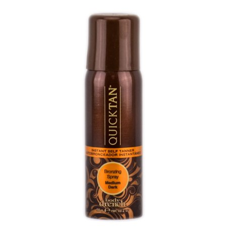 Dark Tan Combo - Body Drench Quick Tan Instant Self Tanner Bronzing Spray ( 2 oz - Medium Dark)