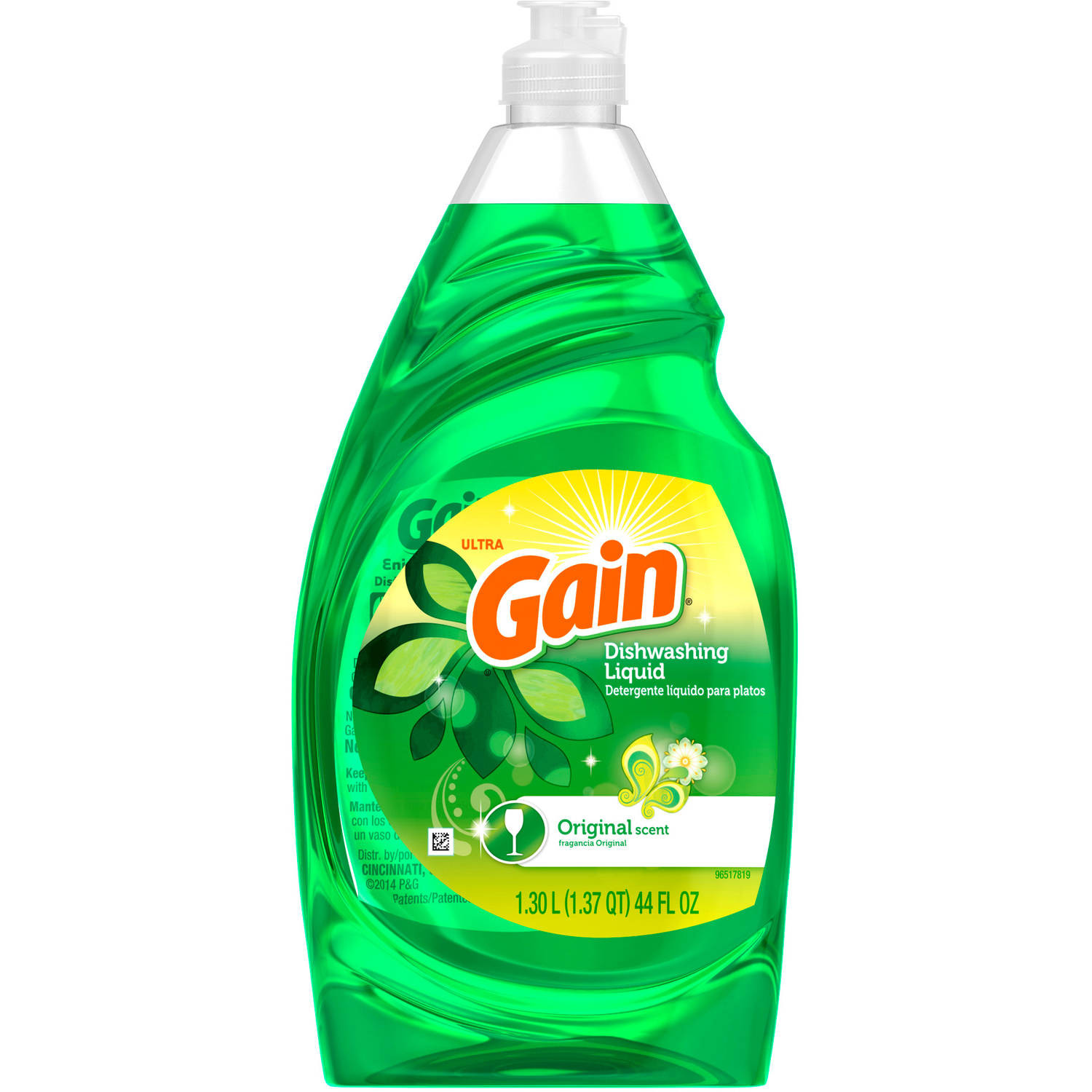 Gain Dishwashing Liquid Original Scent (choose your size)