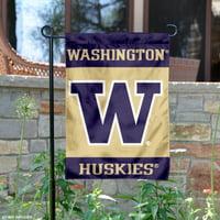 university of washington garden flag and yard banner