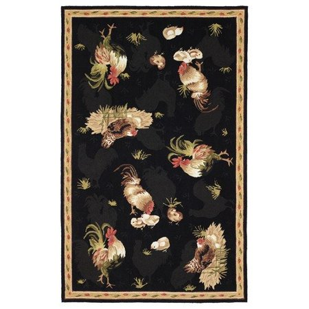 828 rugs international staccato accents roosters novelty for International decor rugs