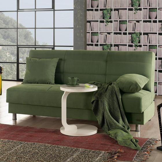 Empire Furniture Usa Atlanta Armless Modern Convertible Sofa