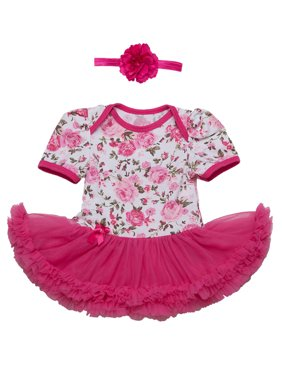4d5cadcba352 Pink Baby Girls Outfit Sets - Walmart.com