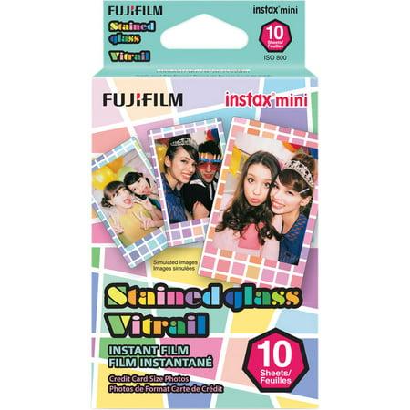Fujifilm 10 Exposures Instax Mini Stained Glass Instant Film