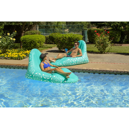 Poolmaster Imperial Lounge Deluxe Swimming Pool Float and Patio Furniture